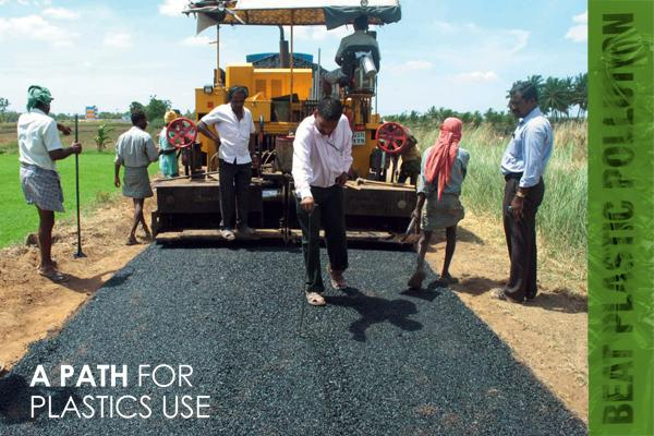 Plastics Reuse roads